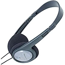 Panasonic RP-HT090E-H - Auriculares de diadema abiertos, plateado