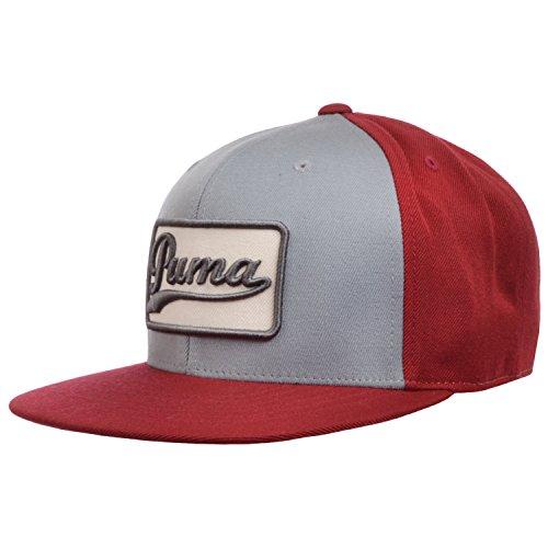 Puma-Cappellino, colore: rosso/grigio