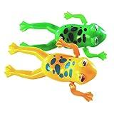 SODIAL(R) Il giocattolo sveglio del randello di nuotata del giocattolo sveglio del randello della rana di nuoto gioca # 1
