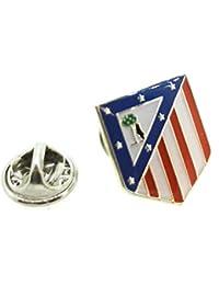 Pin de Solapa Plata de Ley 925 Atletico de Madrid 1cfc17a3ecf15