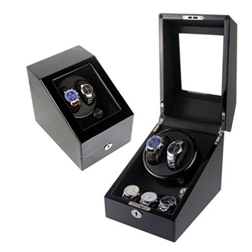KY Uhrenbeweger Uhr Winder Full automatische mechanische Uhr Box Motor rotierenden Box oberen String Box Schütteln Tabelle. (Farbe : 2+3F)