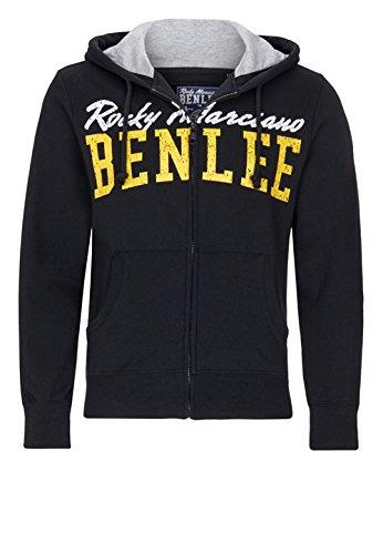 BENLEE Rocky Marciano Herren Men Hooded Zipjacket Westside, Schwarz, XXL Preisvergleich