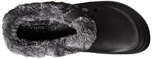 Crocs Unisex Blitzen Ii Luxe Lined Clog Black/Charcoal