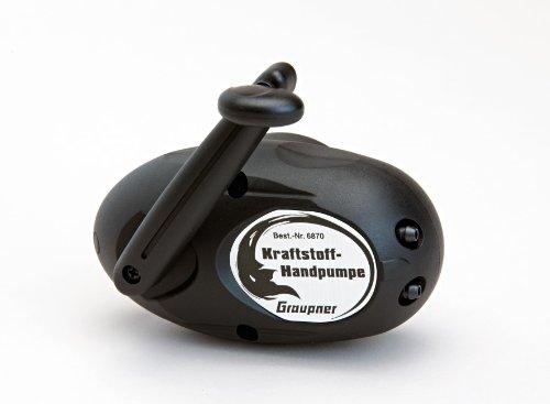 Graupner - 6870 - Pompe À Carburant Manuelle, Résist. L'Essence