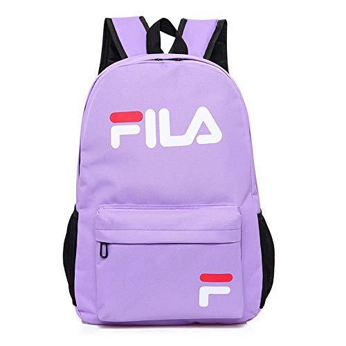 Jia hong zaino versione coreana di studenti delle scuole primarie zaino selvaggio scuola media studenti maschio borsa da liceo borsa per il tempo libero femminile borsa da viaggio,purple