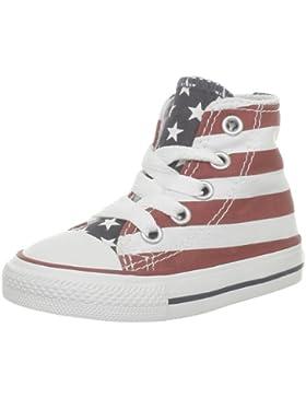 Converse Stars & Bars Hi 020820-21-3 - Zapatillas de tela para niños