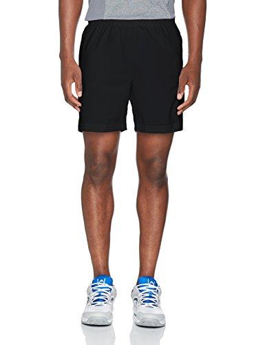 Wilson M Rush 7 Pantalón Corto de Tenis, Hombre, Negro...