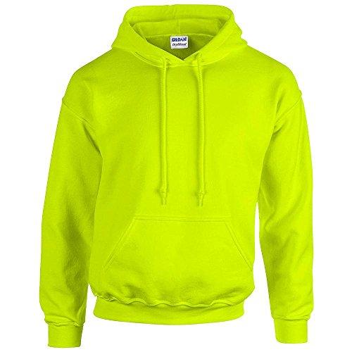 Gildan - Unisex Kapuzenpullover \'Heavy Blend\' , Safety Green, Gr. 4XL