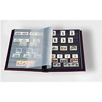 Leuchtturm 319097 Clasificador DIN A4, 32 páginas negras, tapa no acolchada, color surtido