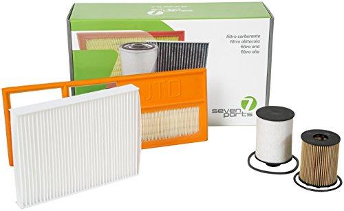 Preisvergleich Produktbild Seven Parts sv05 K174cn Kit Filter ariaolio Innenraumfilter Kraftstofffilter