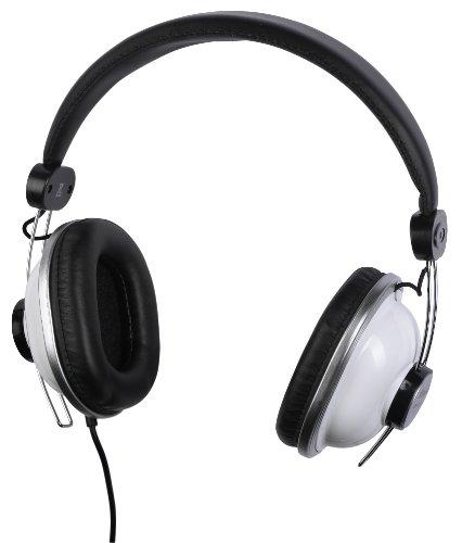 Aircoustic SR180 Retro Design Stereo Kopfhörer (3,5mm Stecker, 100 dB)silber/schwarz
