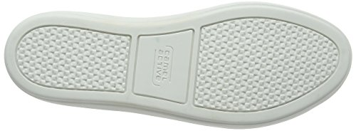 Camel Active Top 74, Sneakers Basses Femme Blanc (White-Silver 01)