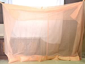 PF RECOMMENDED Calinet Mosquito Net for large bed 6*8 (Peach)