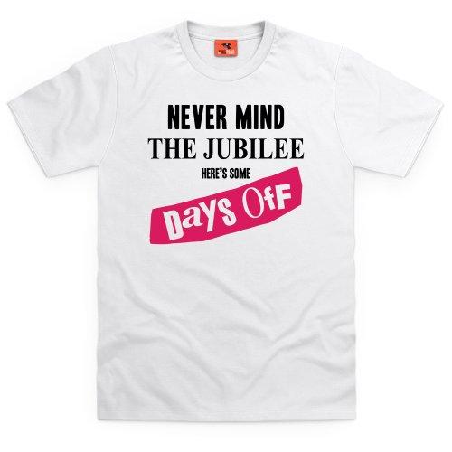 Days Off T-shirt, Uomo Bianco