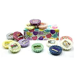 Idea Regalo - Yankee Candle 10 x Fondenti in Scatola Regalo Floreale