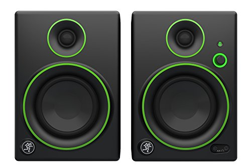 Mackie CR4BT Monitor Multimediali Bluetooth con Woofer da 4', Nero (Coppia)