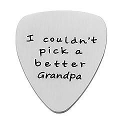 Idea Regalo - nonno regali i Couldn' t pick una migliore nonno plettro per migliore nonno festa del papà