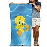 xcvgcxcvasda Looney Tunes Tweety Bird Beach Towel 31'x 51' Unique Pattern Design