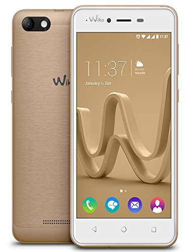 "Wiko Jerry Max SIM doble 8GB Oro - Smartphone (12,7 cm (5""), 480 x 854 Pixeles, IPS, 16 million colours, Multi-touch, Capacitiva)"