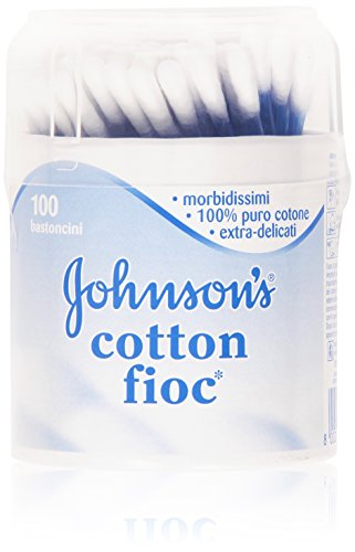 Johnson & Johnson Wattestäbchen (Johnson & Johnson 's Cotton FIOC Wattepads 100 P)