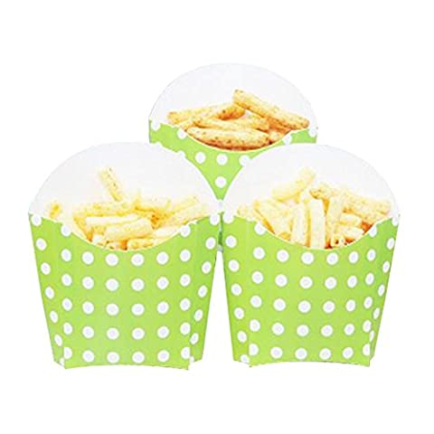 12 PCS Birthday Party Supplies Popcorn Cups Boîtes alimentaires pour frites / sucre - A14