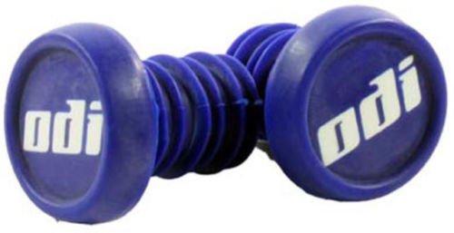 ODI Bar End Plug Ersatz Lenker Enden Stopfen 1 paar (2St) + Fantic26 Sticker (Blau) -