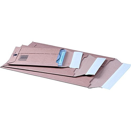 karton-billiger Versandtaschen aus Karton (Wellpappe) A3 - 100Stück