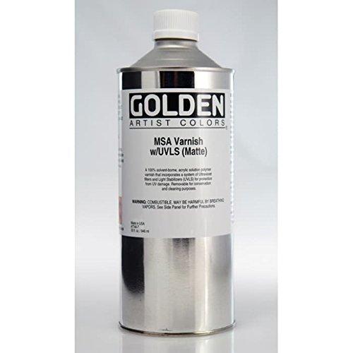 Msa Matte (Golden Acryl mittel: MSA (Mineral Spirit Acryl) Nagellack Matte 946ml)