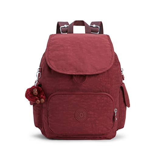 Kipling City Pack S, Women's Backpack, Brown (Burnt Carmine C), 19x27x33.5 Cm (B X H T)