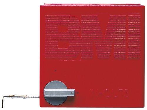 BMI 404341010 Taschenbandmaß In Out mit Innenmessung, Länge 3 m, weisslackiertes Band