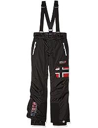 Geographical Norway WN326H/GN, Pantalón de esquí para niño, Negro, 12