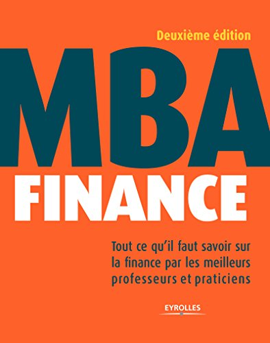 MBA finance par Collectif