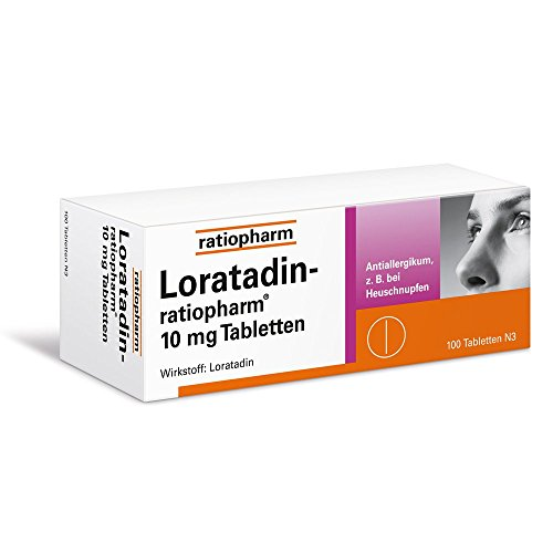 Loratadin ratiopharm 10 mg Tabletten 100 stk (Loratadin Tabletten)