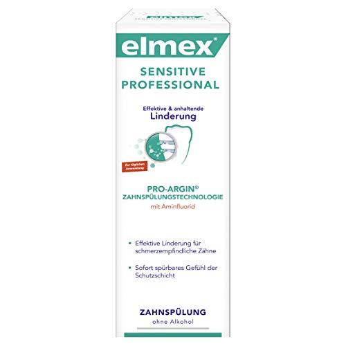 Elmex Sensitive Professional Zahnspülung, 4er Pack (4 x 400 ml)