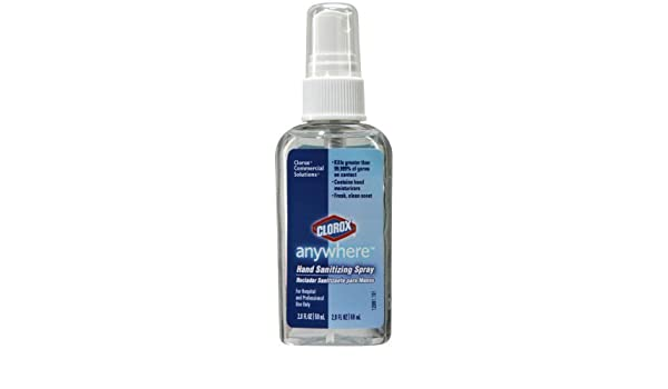 Clorox Clo 02174 Bleach Free Hand Sanitizer 2 0 Fl Oz 6 Pack