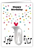 Print Lover Geburtstagskarte – Happy Birthday Musik
