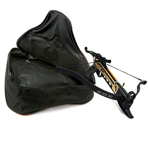 Pellor Außen Bogenrucksack Jagdtasche Compoundbogentasche Bogenschießen Armbrust Tasche Tragetasche Schwarz-S