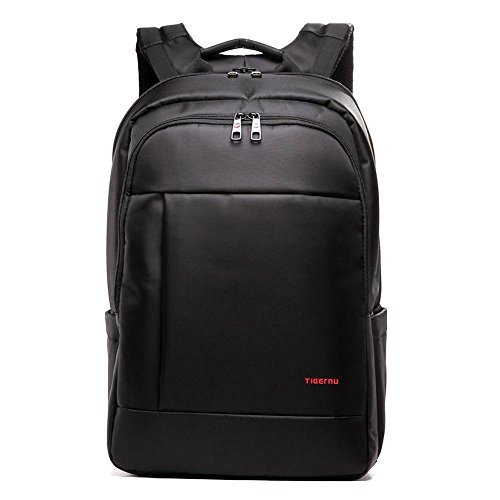 "Slotra Zaino per Computer Portatile per 15.6"" 17"", Uomo Business Bag Zaini Viaggio Antifurto Laptop Backpack Nero"