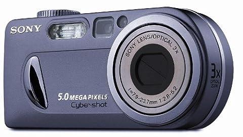 Sony Cyber-shot DSC-P10 Digitalkamera (5,0 Megapixel) silber
