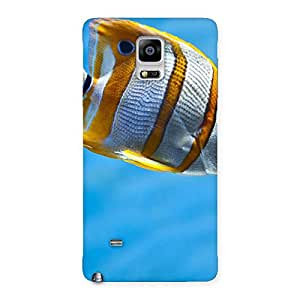 Special Fish Multicolor Back Case Cover for Galaxy Note 4