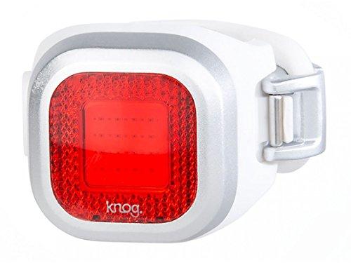 Knog Chippy Beleuchtung Unisex Erwachsene, Silver (Blinds Mini)