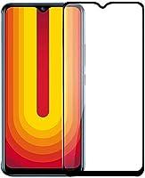 ValueActive Screen Guard For Vivo U20 Tempered Glass 6D Full Glue Cover Edge-Edge Anti-Scratch Anti-Fingerprint Tempered...