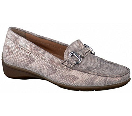 Mephisto - Natala Python 7512 Light Sand, Mocassino da donna Light Sand