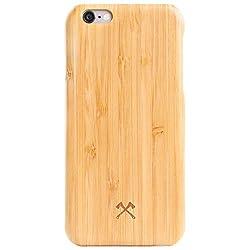 Woodcessories - Hülle, Case kompatibel mit iPhone 6 Plus, iPhone 6s Plus, EcoCase Slim (Bambus)