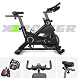 We R Sorts Commercial Indoor Studio Cycle Exercise Spin Bike Fitness Cardio Indoor Aerobic Spinning Bike Machine X3Power
