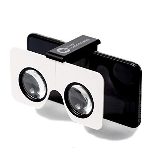 Pocket 360 Mini VR Viewer | Die Besten Cardboard Virtual Reality-Brille | Google Cardboard V2 Inspired | Kleines und Einzigartiges Reisegeschenk unter 15 Euro (Black)