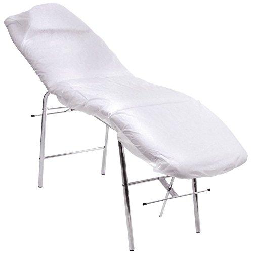 Lenzuola usa e getta regolabili da lettino, dimensioni: 210x 80, confezione da 10pezzi.