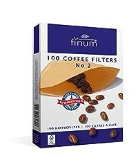 Finum 100 Coffee Filters No. 2