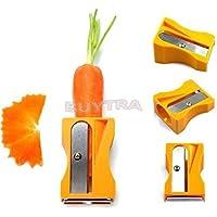 Zanahoria Pepino Sacapuntas pelador de verduras Slicer