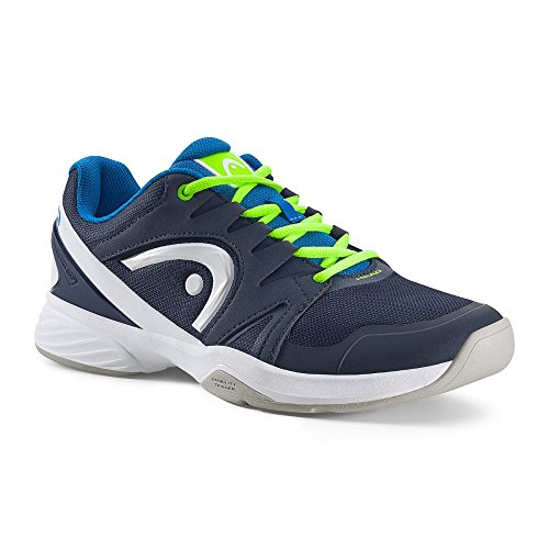 Head Nitro Carpet Junior Tennisschuh blau/grün Größe UK 2